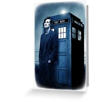 doctor smith tee Tardis Hoodie / T-shirt Greeting Card