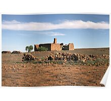 Outback Ruins Poster