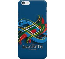 Macbeth Tartan Twist iPhone Case/Skin