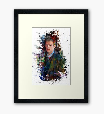 I'm a Doctor Tee Dr. Who Hoodie / T-shirt Framed Print