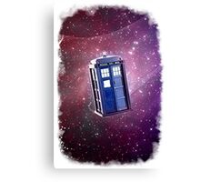 Blue Box nebula Tee Tardis Hoodie / T-shirt Canvas Print