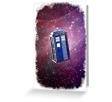 Blue Box nebula Tee Tardis Hoodie / T-shirt Greeting Card