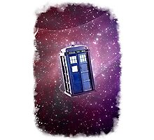 Blue Box nebula Tee Tardis Hoodie / T-shirt Photographic Print