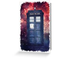 Police Blue Box Tee The Doctor T-Shirt Greeting Card