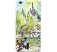 The City Park In Budapest 01 iPhone Case/Skin