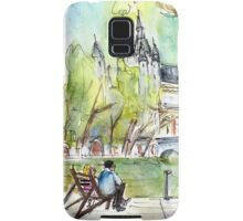 The City Park In Budapest 01 Samsung Galaxy Case/Skin
