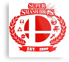 Smash Bros Metal Print