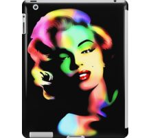 Marilyn Monroe Rainbow Colors  iPad Case/Skin