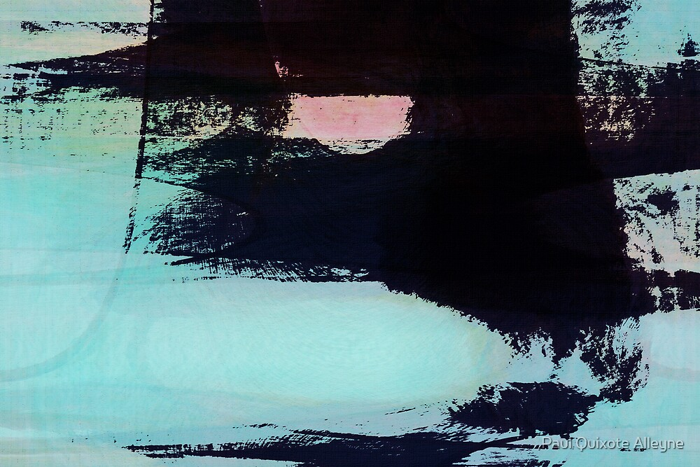 BLACK BLUE by Paul Quixote Alleyne