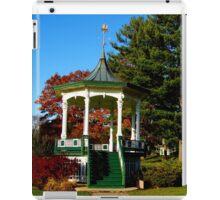 Gazebo at Hoopes Park, Auburn, New York iPad Case/Skin