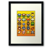 Powerups Framed Print