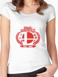 Smash Bros Women's Fitted Scoop T-Shirt