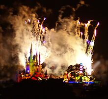 Disney on Fire by dhall12345