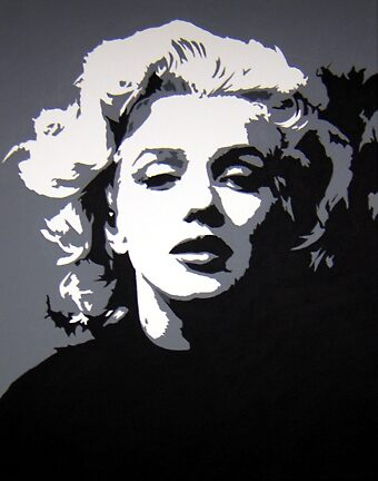 Marilyn by Michael James Toomy
