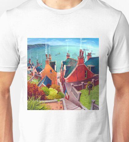 Sea houses. Gardenstown. Unisex T-Shirt