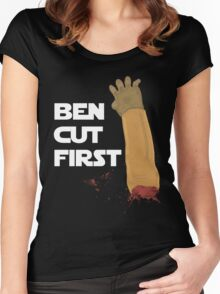 Ben Cut First Women's Fitted Scoop T-Shirt