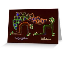 marjarya, bitila -sana Greeting Card