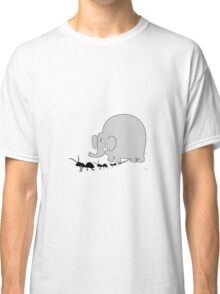 Elephant and ant Classic T-Shirt