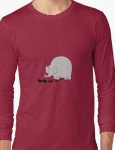 Elephant and ant T-Shirt