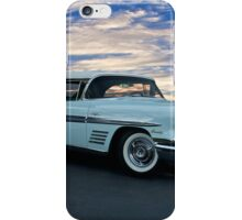 1958 Pontiac Bonneville Convertible iPhone Case/Skin