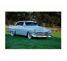 1953 Chrysler New Yorker Deluxe Sedan Art Print