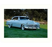 1953 Chrysler New Yorker Deluxe Sedan Art Print