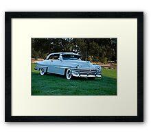 1953 Chrysler New Yorker Deluxe Sedan Framed Print
