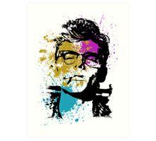 """Smoking Glasses"" Art Print"