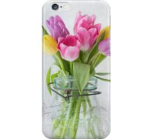Tulips in a Jar iPhone Case/Skin