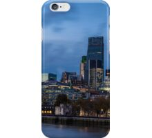 The changing face of the City iPhone Case/Skin