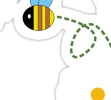bee happy ! Sticker