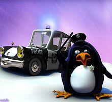 Penguin Police by maraich