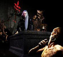 Lair of the Necromancer by maraich