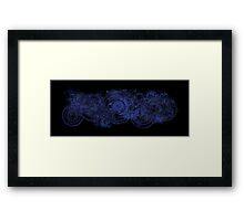 It's a tv show, only the emotional damage is real (DW) Framed Print