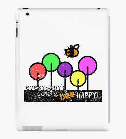 Everybody's Gonna Bee Happy iPad Case/Skin