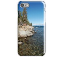 Granite Boulders Along Lake Tahoe iPhone Case/Skin