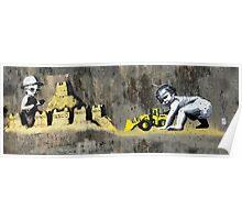 hastings Banksy & DS Poster