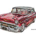 Chevrolet Nomad by BSIllustration