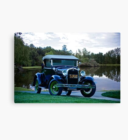 1931 Ford Model A 'Rumble Seat' Roadster 1 Canvas Print