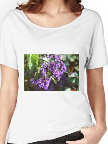 Purple Nature Women's Relaxed Fit T-Shirt