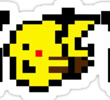 Pikachu Yellow Sticker