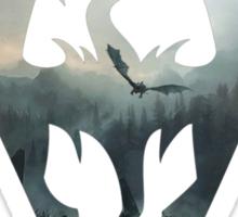 dragon sky Sticker