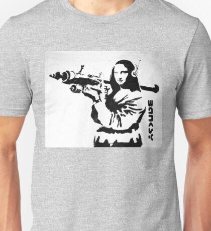 Banksy Monalisa Unisex T-Shirt