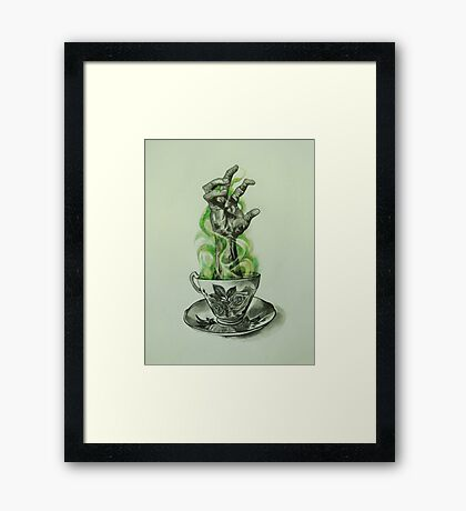 Cup of Joe Framed Print