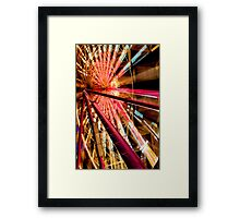 """Ferris Wheel I"" Framed Print"
