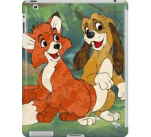 Fox and the Hound iPad Case/Skin