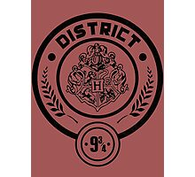 District 9 3/4 - Hunger Games/Harry Potter Photographic Print