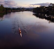 Follow your nose - Riverway Rowing Club by Paul Gilbert