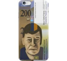 200 Swiss Francs Note Bill iPhone Case/Skin