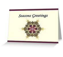 Xmas V Greeting Card